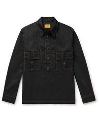 Tod's Tech-twill Shirt - Black