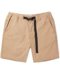 Remi Relief - Slim-fit Cotton-twill Shorts - Lyst