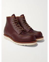 Red Wing Classic Moc Leather Boots - Multicolour
