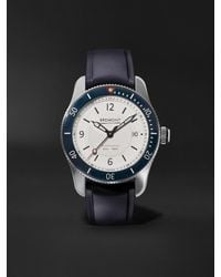Bremont Supermarine S300 White Automatic 40mm Stainless Steel And Rubber Watch, Ref. S300-wh-r-s