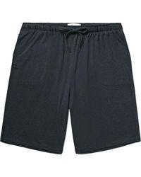 Derek Rose Marlowe Stretch Micro Modal Jersey Pajama Shorts - Gray