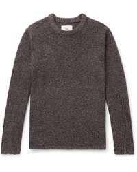 Folk - Bouclé-knit Sweater - Lyst