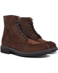Brunello Cucinelli - Suede Boots - Lyst