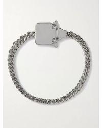 1017 ALYX 9SM - Mini Cubix Silver-tone Chain Bracelet - Lyst