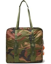 Herschel Supply Co. - Studio City Pack Hs7 Camouflage-print Ripstop Tote Bag - Lyst