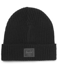 Herschel Supply Co. - Morris Ribbed Cashmere Beanie - Lyst