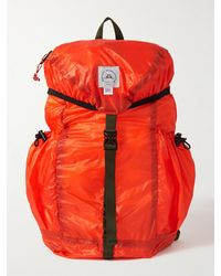 Epperson Mountaineering Packable Logo-appliquéd Recycled Nylon-ripstop Backpack - Orange