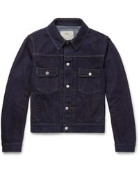 Berluti Slim-fit Selvedge Denim Jacket - Blue