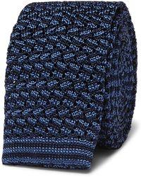 Rubinacci - 6cm Knitted Silk Tie - Lyst