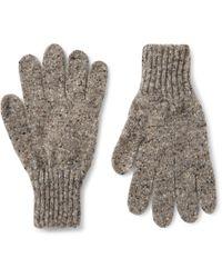 Drake's - Donegal Merino Wool Gloves - Lyst