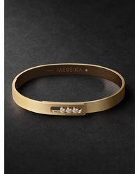 Messika Move Noa 18-karat Gold Diamond Bracelet - Metallic