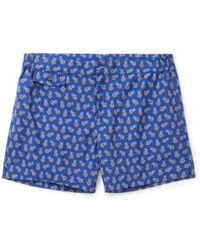 Incotex | Short-length Floral-print Swim Shorts | Lyst