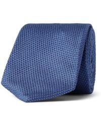 BOSS - 6cm Pin-dot Silk-jacquard Tie - Lyst