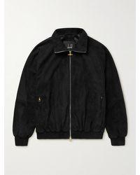 Dunhill Suede Jacket - Black