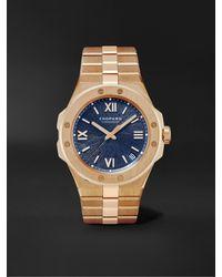 Chopard Alpine Eagle Large Automatic 41mm 18-karat Rose Gold Watch, Ref. No. 295363-5001 - Blue