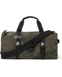 Polo Ralph Lauren | Leather-trimmed Camouflage-print Canvas Duffle Bag |  Lyst
