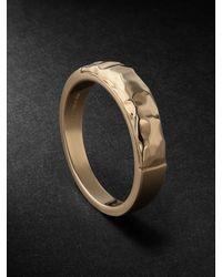 Laud 18-karat Gold Ring - Metallic
