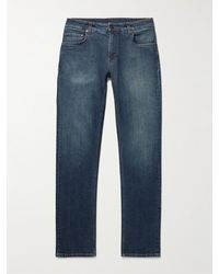 Etro Embroidered Jeans - Blue