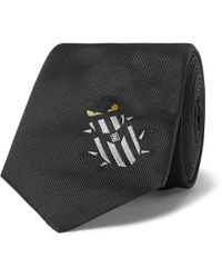 Fendi - 7cm Silk-jacquard Tie - Lyst