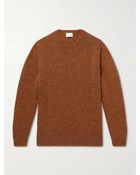 Kingsman Virgin Wool Jumper - Brown