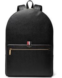 Thom Browne - Pebble-grain Leather Backpack - Lyst