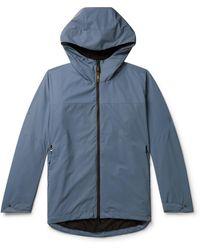 Aspesi Reflective Coated-shell Jacket - Blue