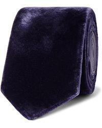Lanvin - 7cm Velvet Tie - Lyst