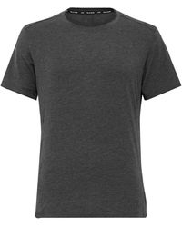 On Active-t Stretch-cott And Modal-blend Jersey T-shirt - Gray