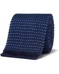 Loro Piana - 6cm Knitted Silk Tie - Lyst