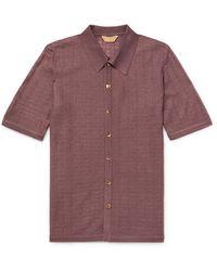Yuri & Yuri Rallison Pointelle Serie Shirt - Brown
