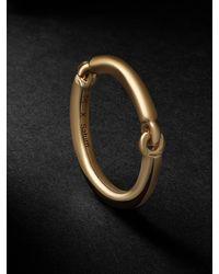 MAOR The Equinox 18-karat Gold Ring - Metallic