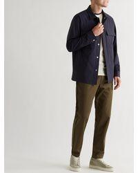 Theory Jared Precision Stretch-nylon Jacket - Blue