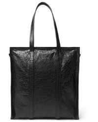 Balenciaga Creased-leather Tote Bag - Black