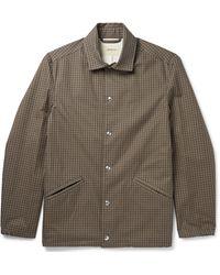 Bellerose Houndstooth Cotton Coach Jacket - Multicolour