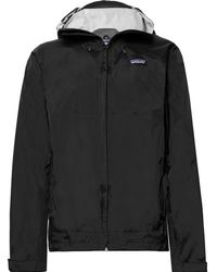 Patagonia | Torrentshell Waterproof H2no Performance Standard Ripstop Hooded Jacket | Lyst