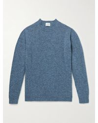 Kingsman Virgin Wool Jumper - Blue