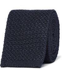 Berluti - 7cm Knitted Silk Tie - Lyst