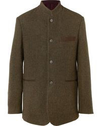 James Purdey & Sons Hawick Unstructured Wool And Cashmere-blend Tweed Blazer - Green