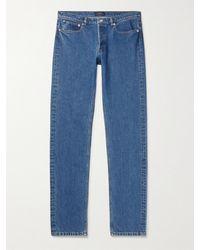 A.P.C. Slim-fit Denim Jeans - Blue