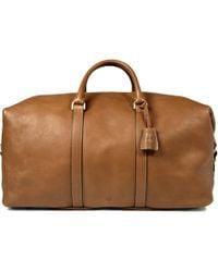 Mulberry - Clipper Leather Holdall - Lyst