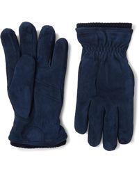Hestra - Nathan Primaloft Suede Gloves - Lyst
