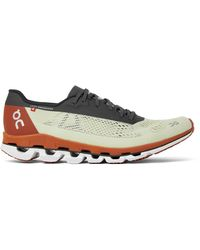 On - Cloudboom Rubber-trimmed Mesh Running Sneakers - Lyst