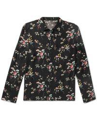 Haider Ackermann - Floral-print Twill Shirt - Lyst