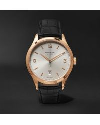 Montblanc - Automatic 40mm Red Gold And Alligator Watch - Lyst