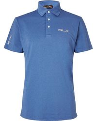 RLX Ralph Lauren - Airflow Stretch-jersey Polo Shirt - Lyst