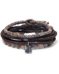 M. Cohen - The Create Stack Ii Sterling Silver And Labradorite Bracelets - Lyst