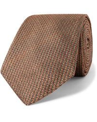 James Purdey & Sons 8cm Silk Tie - Orange