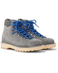 Diemme Roccia Vet Suede Boots - Gray