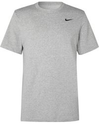 Nike - Cotton-blend Dri-fit T-shirt - Lyst