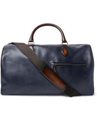 Berluti Cabas Ego Leather Tote Bag in Black for Men - Lyst fdcabb381c028